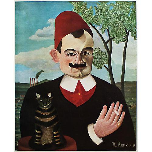 Henri Rousseau, Portrait of Pierre Loti
