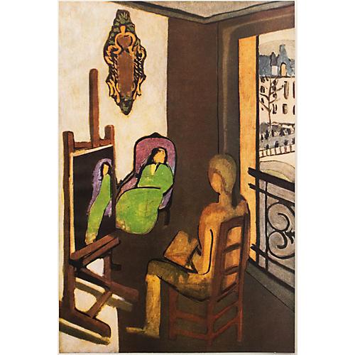 1940s Matisse, Painter & His Model