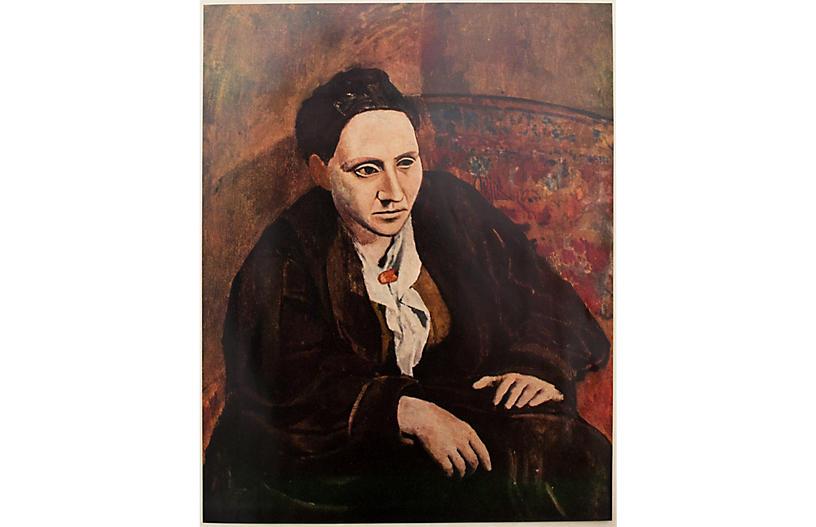 1950s Pablo Picasso, Gertrude Stein