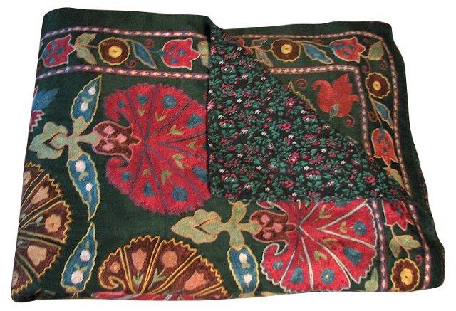 Embroidered Silk Uzbek Suzani