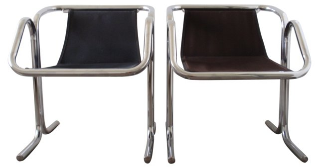 Arcadia Chairs by Jerry Johnson, Pair
