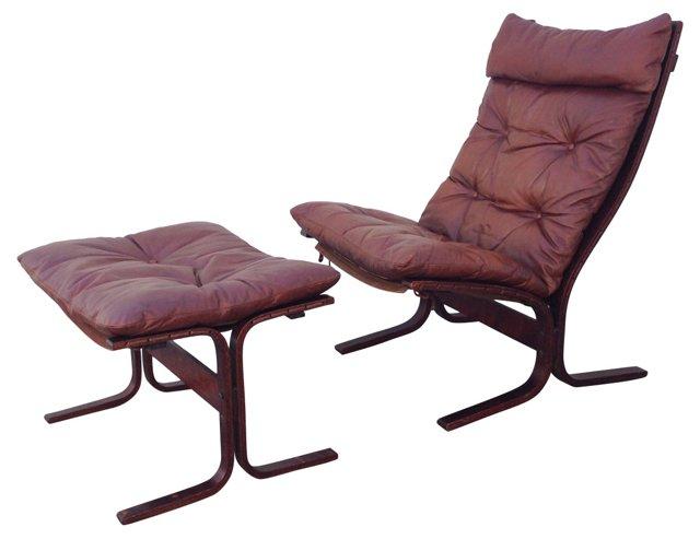 Westnofa Siesta Chair &    Ottoman