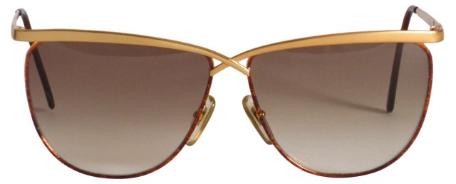 Laura Biagiotti Goldtone    Sunglasses
