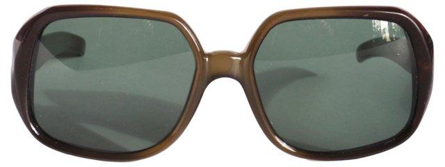 Green Fade Dior Sunglasses
