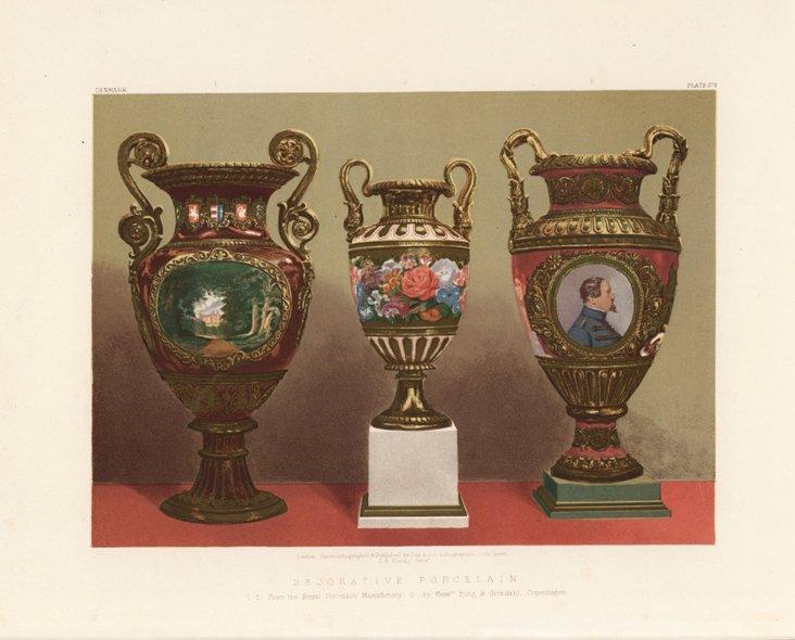 Decorative Porcelain     Print, 1862