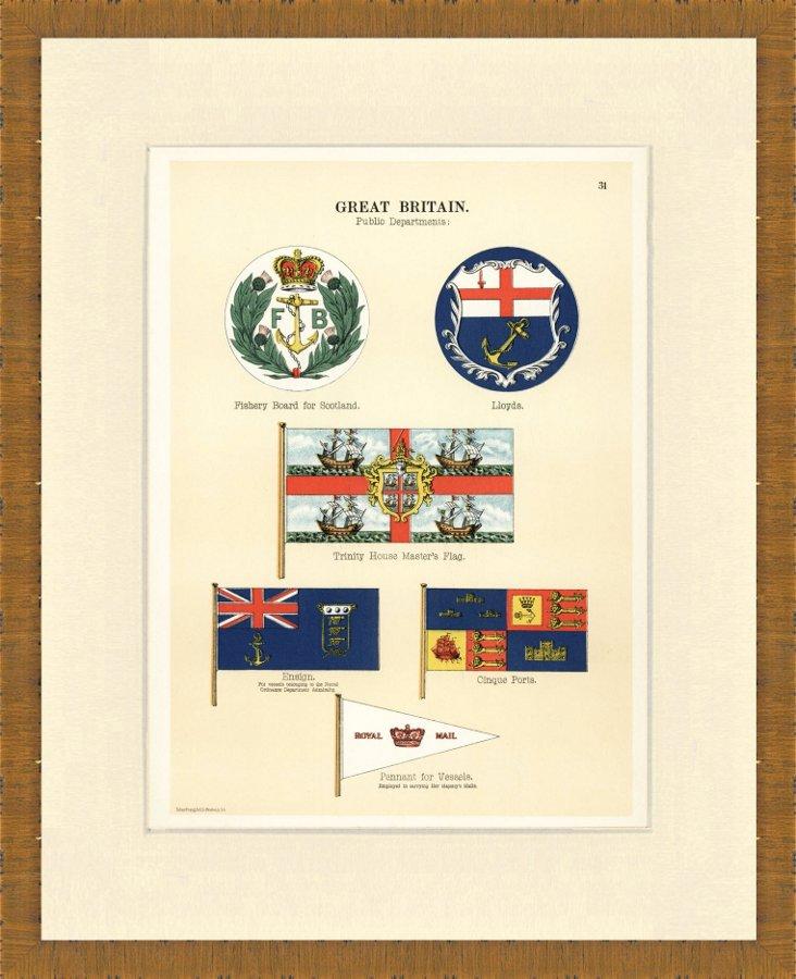 British Flags, 1899
