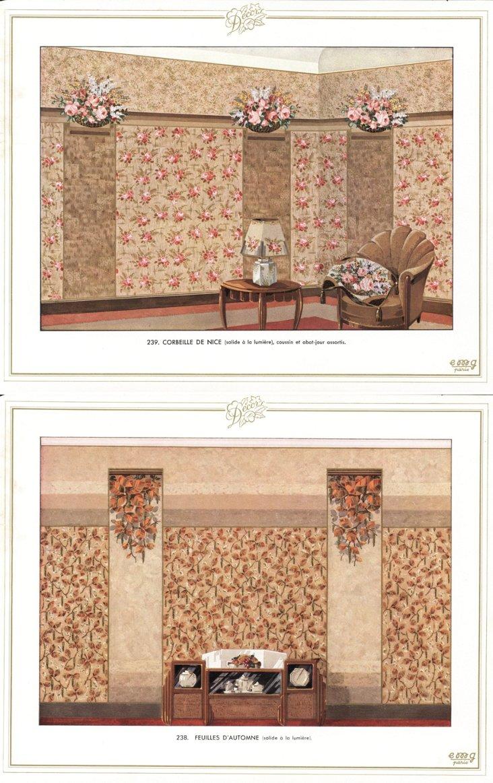 Art  Deco  Interiors, 1934, Pair