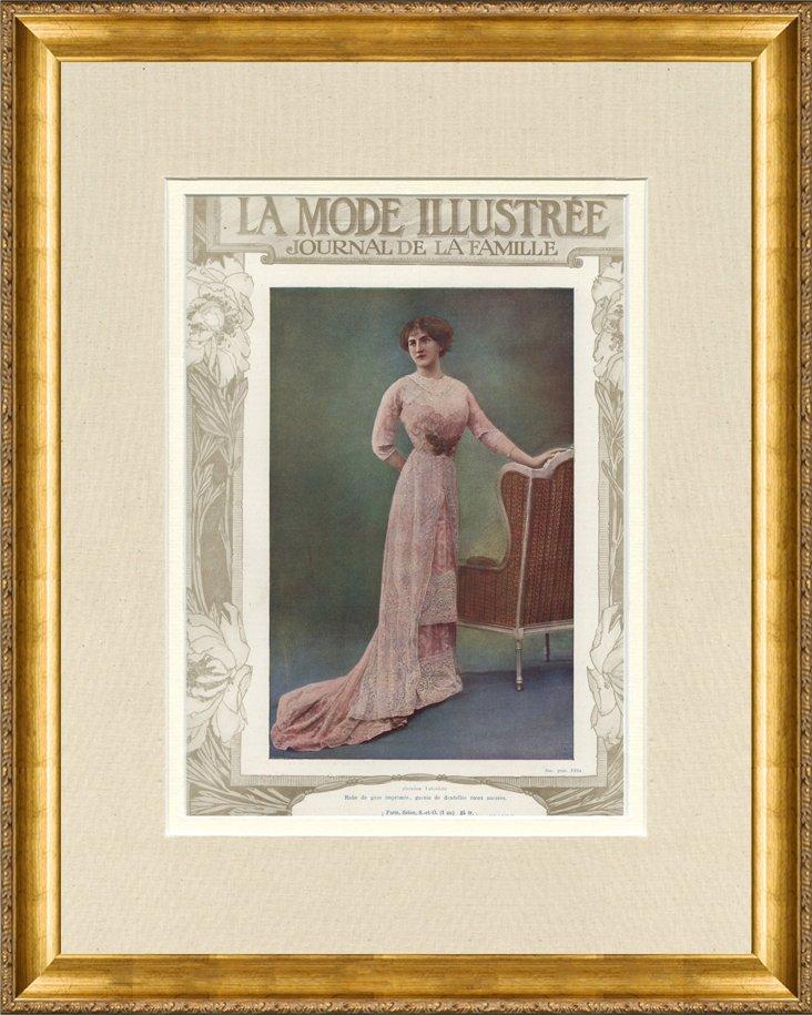 La   Mode Illustrée Cover, C. 1910