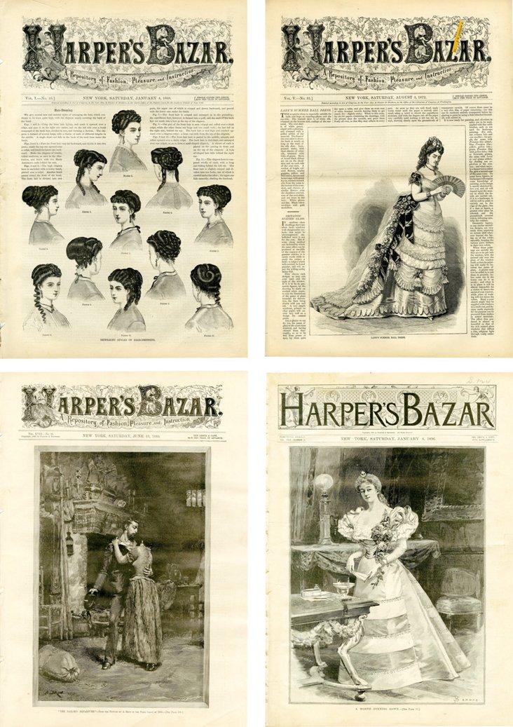 Harper's Bazar,   1860s-1890s, S/4