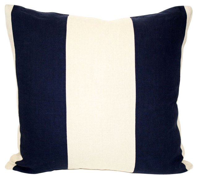 Pieced Linen Pillow