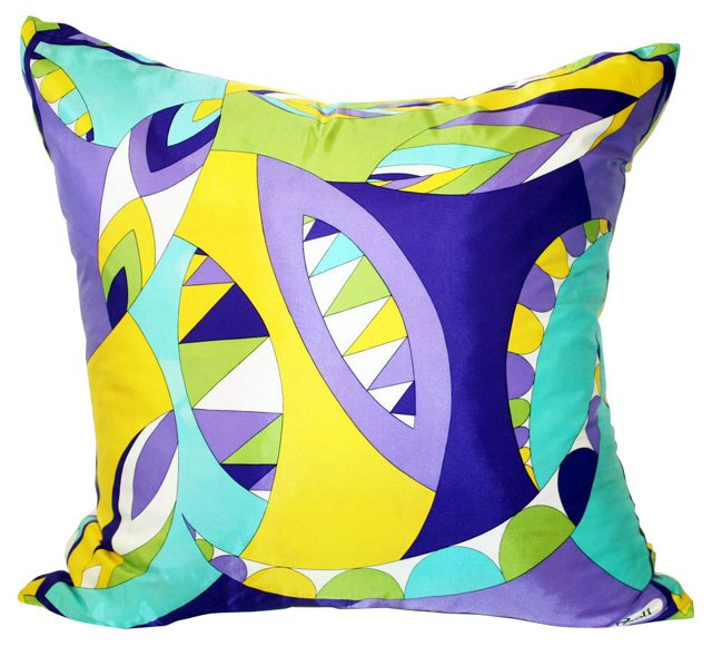 Paoli Silk Scarf Pillow
