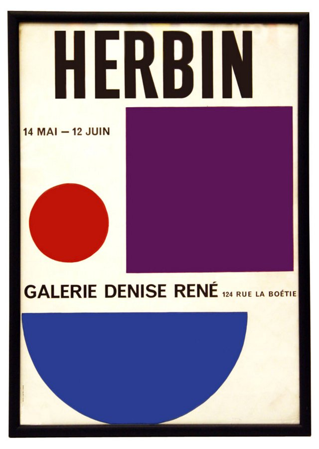 French Gallery Herbin Poster