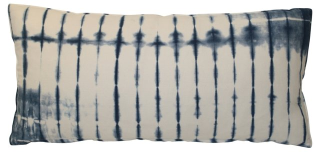 Indigo  Bolster Pillow