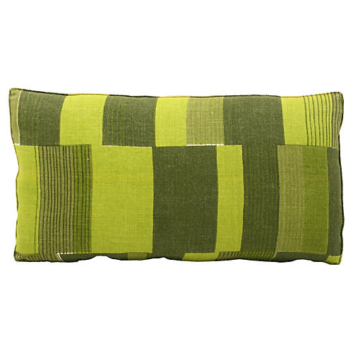 Midcentury Abstract Bolster Pillow
