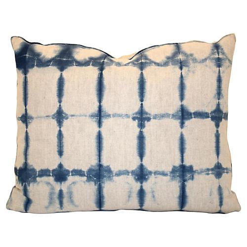 Hand-Dyed Linen Pillow