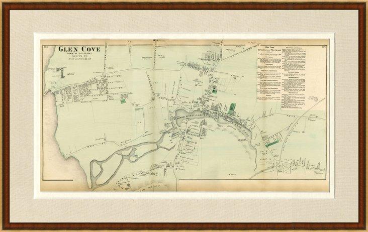 Map of Glen Cove, 1873