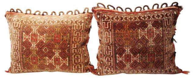 Turkoman Pillows, Pair
