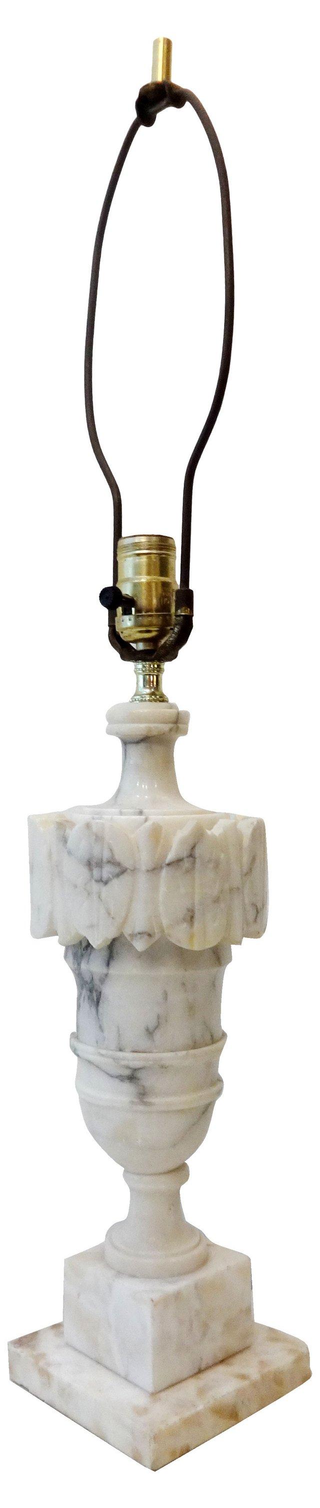 Italian Alabaster Lamp
