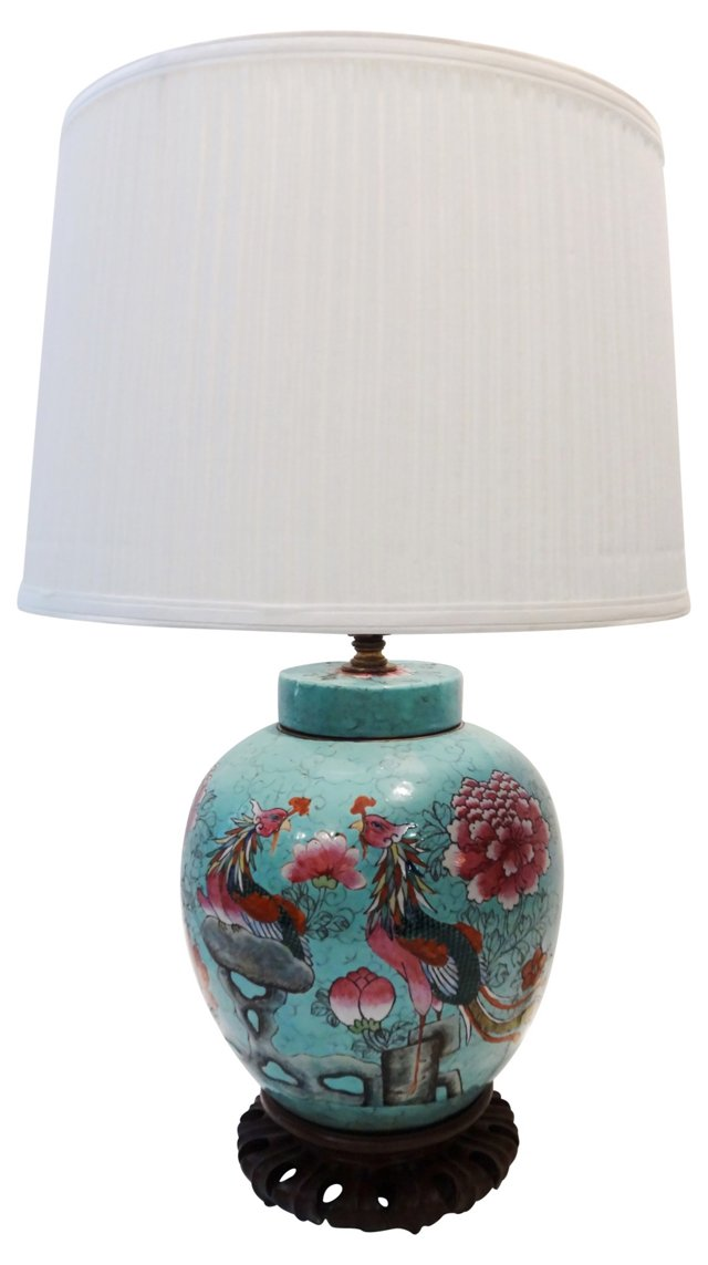 Antique Chinese Lamp