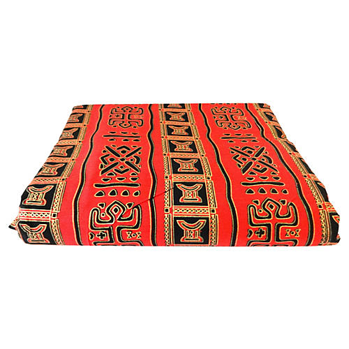 African Kente Cloth Fabric, 12 yards