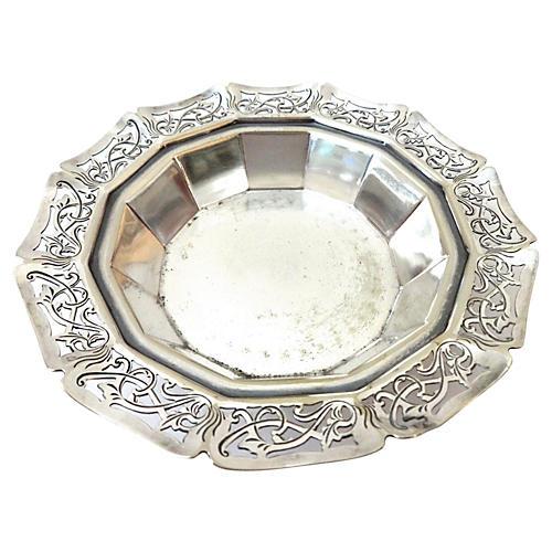 Silver-Plate London Sheffield Bowl