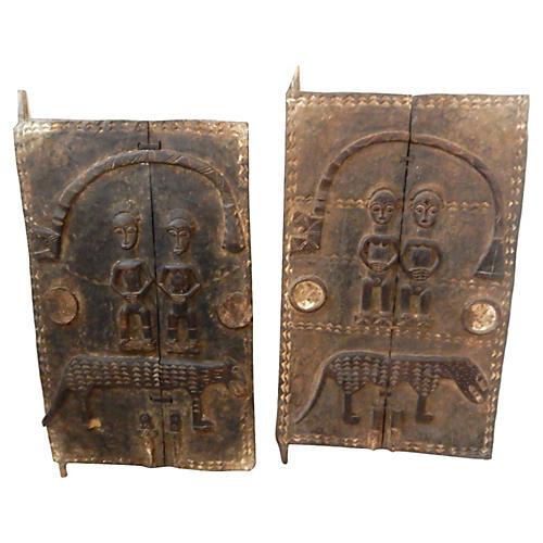 African Doors Baule People, S/2