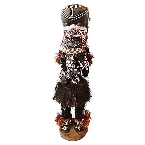 Kuba Mukenga Bird Dancing Sculpture