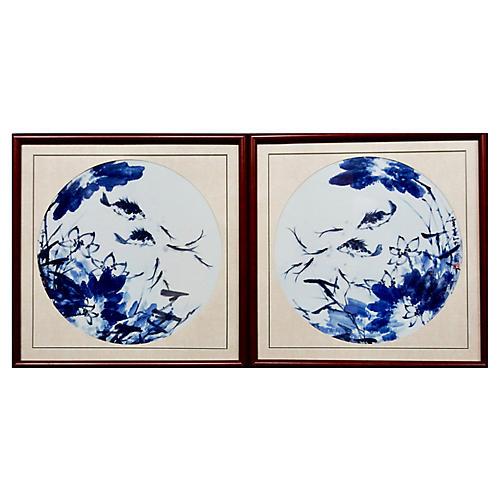 Porcelain Panels, S/2