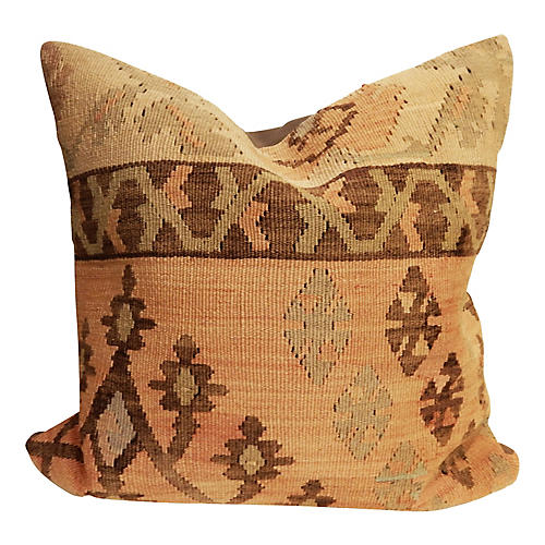 Superb Old Turkish Tribal Kilim Pillow
