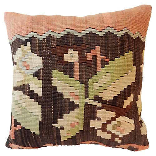 Tribal Turkish Kilim Pillow