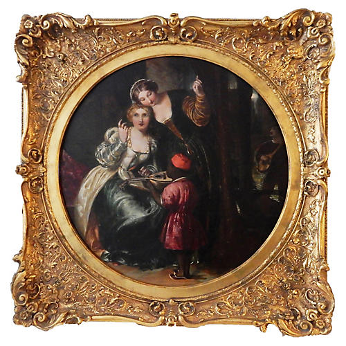 Late-19th-C. Venetian Scene