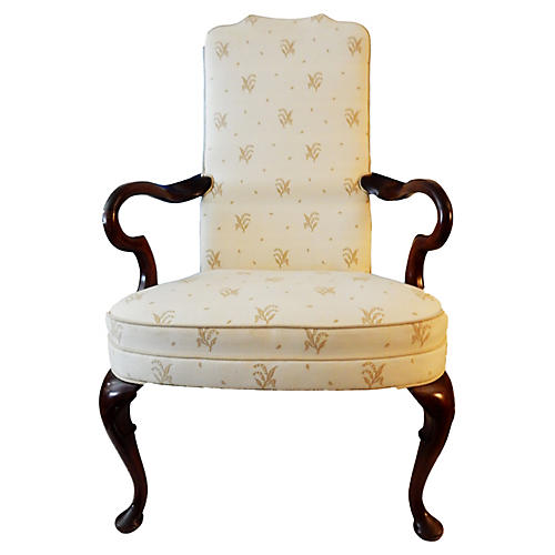 English Queen Anne Armchair