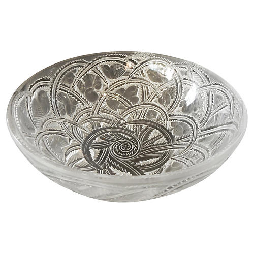 Rene Lalique Pinsons Pattern Bowl