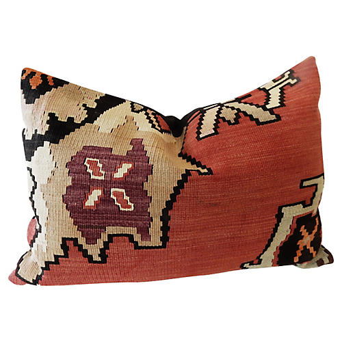 Turkish Tribal Kilim Pillow
