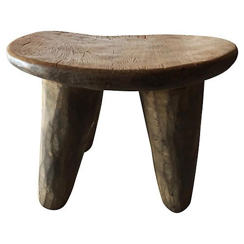Senufo Wood Milk Stool