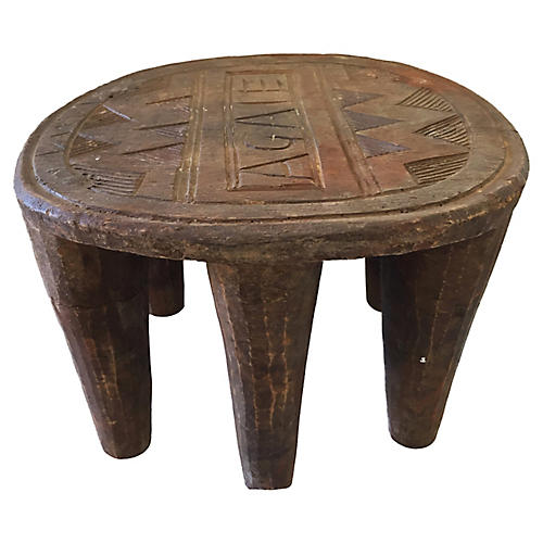 African Nupe Stool