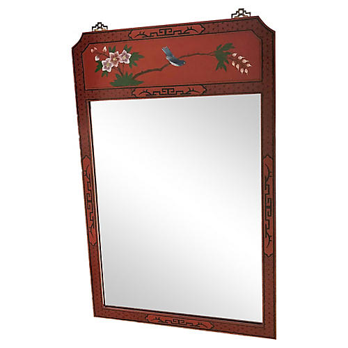 Red Lacquered Mirror