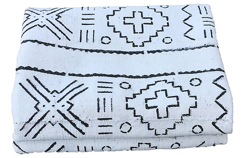 Bogolan Black and White Mud Cloth