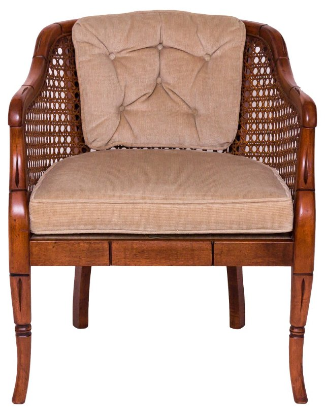 Caned Club Chair by Sam Moore