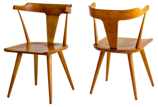 Paul McCobb Planner Group Chairs, Pair