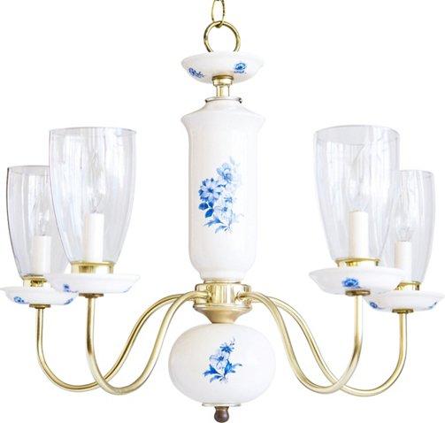 Blue white porcelain chandelier southern grace vintage styles blue white porcelain chandelier southern grace vintage styles vintage one kings lane aloadofball Gallery
