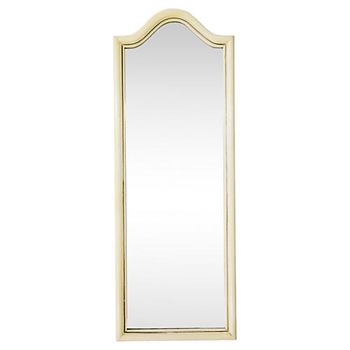 Tall Arched Painted Mirror