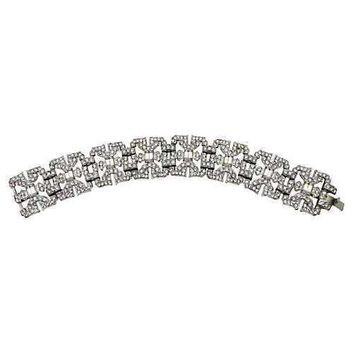 Art Deco Diamanté Bracelet
