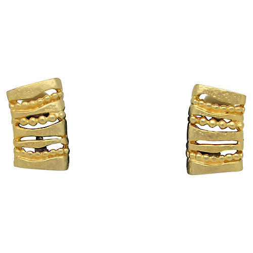 Archaeological-Style Earrings