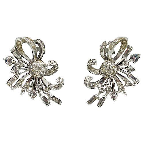 Boucher Cocktail Diamante Earrings