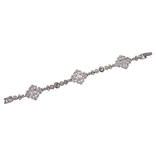 Givenchy Crystal & Faux-Pearl Bracelet
