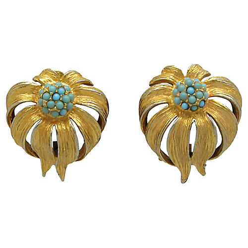 Maison de Fou Floral Earrings