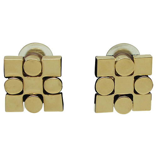 1980s St. John Geometric Earrings