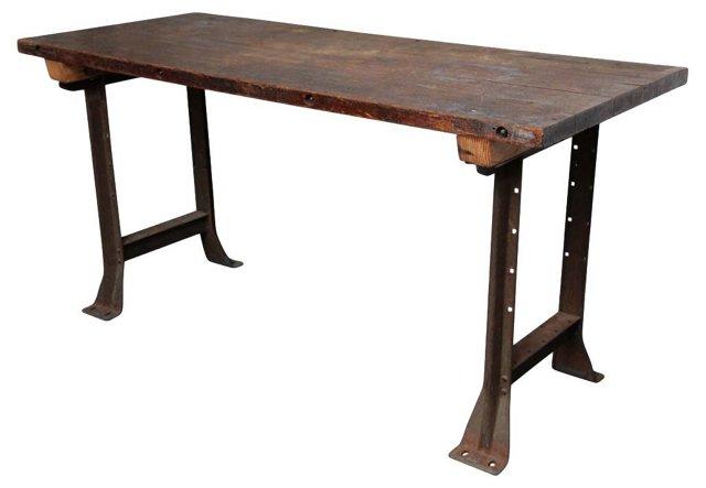 French Kitchen Oak  Table