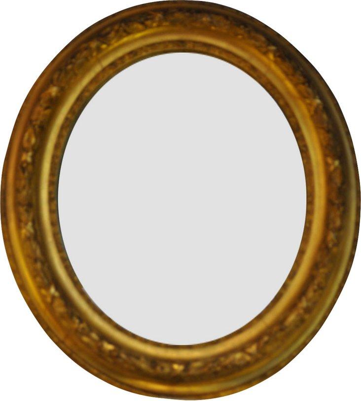 French Empire Frame w/ Mirror